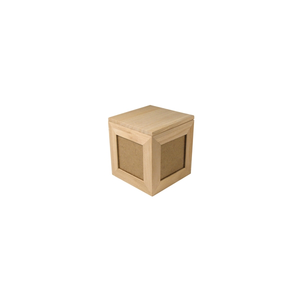 boite bois avec photo maison pratic boutique pour vos