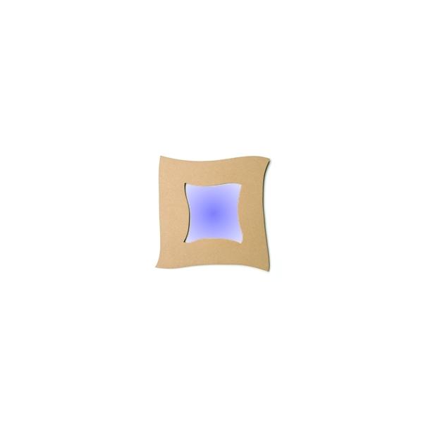 cadre miroir ondul maison pratic boutique pour vos loisirs creatifs et votre deco. Black Bedroom Furniture Sets. Home Design Ideas