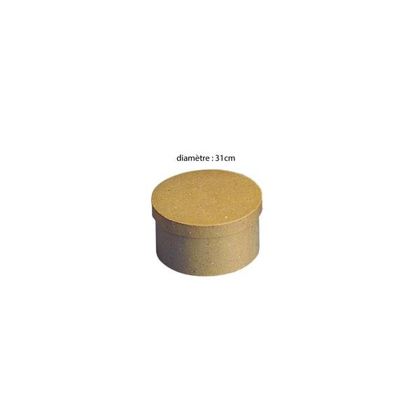 boite à décorer, boite ronde de 30cm
