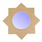 Support cadre miroir étoile