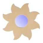 Support cadre miroir soleil