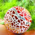 Set Mosaik selber machen Tablett Schmetterling