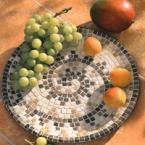 Kit Mosaico artistico vassoio farfalle