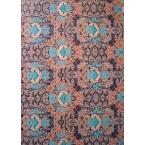 Décopatch 695 bleu et orange