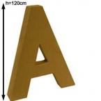 Lettre 3D geante A 120cm
