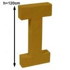 Lettre 3D geante I