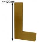 Lettre 3D geante L 120cm