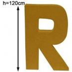 Lettre 3D géante R 120cm
