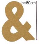 Lettre 3D geante & 80cm