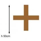 Lettre + geante  50cm