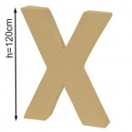 Lettre 3D géante X 120cm
