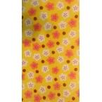 Décopatch 709 rose orange bordeaux jaune