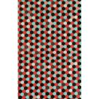 Décopatch 719 rouge noir turquoise