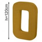 Lettre 3D geante O 120cm