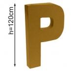 Lettre 3D geante P 120cm