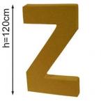 Lettre 3D geante Z 120cm