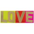 LOVE lettre D géante