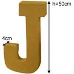 Lettre 3D geante J
