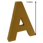 lettre A 100cm