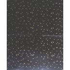 Décopatch 778 noir mat étoiles or
