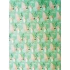Décopatch Papier 800 rose et vert pastel