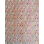 Décopatch Papier 820 rose et or