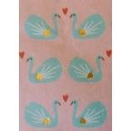 Décopatch Paper 822 pink turquoise