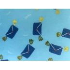 Décopatch Papier 823 bleu clair et bleu marine