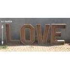 Lettres LOVE 1metre pour mettre des fleurs