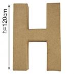 Lettre 3D geante H 120cm