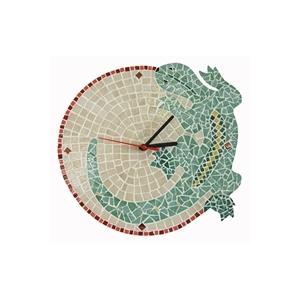 Kit mosaico artistico orologio fai da te salamandra for Orologio fai da te