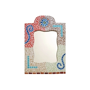 mosaik set orientalischer spiegel maison pratic. Black Bedroom Furniture Sets. Home Design Ideas