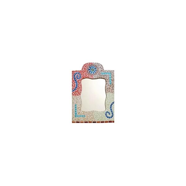 mosaik set orientalischer spiegel maison pratic boutique pour vos loisirs creatifs et votre deco. Black Bedroom Furniture Sets. Home Design Ideas