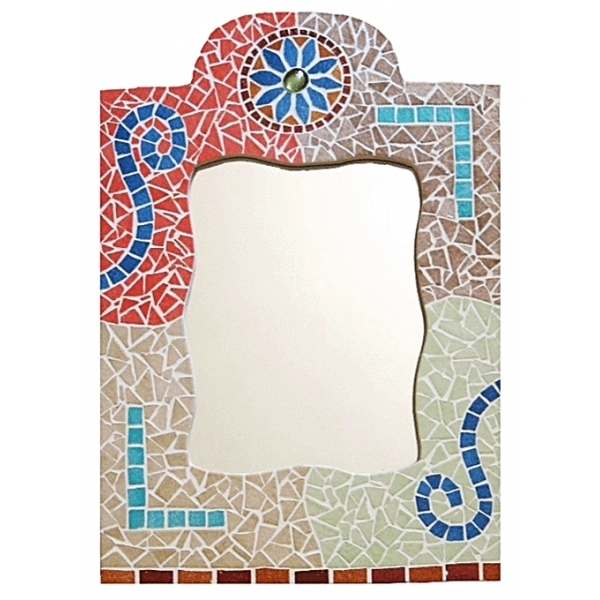 Kit mosa que miroir oriental maison pratic boutique for Mosaique miroir