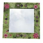 Kit Miroir Décopatch-Fleurs