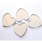 mosaique Miroir coeur 10 pièces