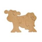 Support puzzle vache