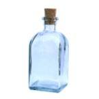 Petite bouteille en verre-GM