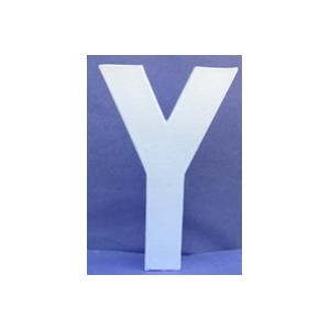 Lettre 3D-Y en carton 20cm